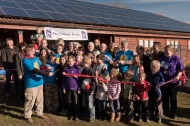 Children's Centre - launch of community solar power station