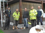 Children's Centre - Eco-Exmoor installation team
