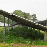 Sandy Moor - ground-mounted panels