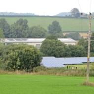 Sandys Moor solar farm and roof