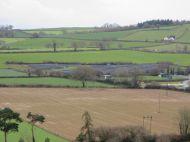 Sandys Moor solar farm from above Nordens Meadow