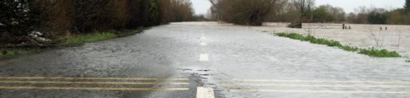 East Lyng flooding 2014
